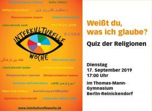 """Weißt du, was ich glaube?"""" – Quiz der Religionen"""