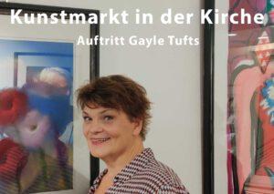 Gayle Tufts Kunstmakt in der Kirche